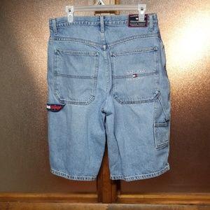 Tommy Hilfiger Shorts - Tommy Hilfiger denim carpenter style shorts